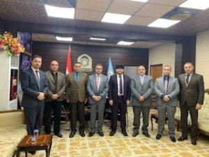زيارة اللجنة الوزارية المركزية الخاصة بالمجموعة الهندسية الى جامعتنا